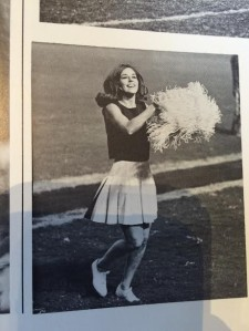 1960s cheer leader