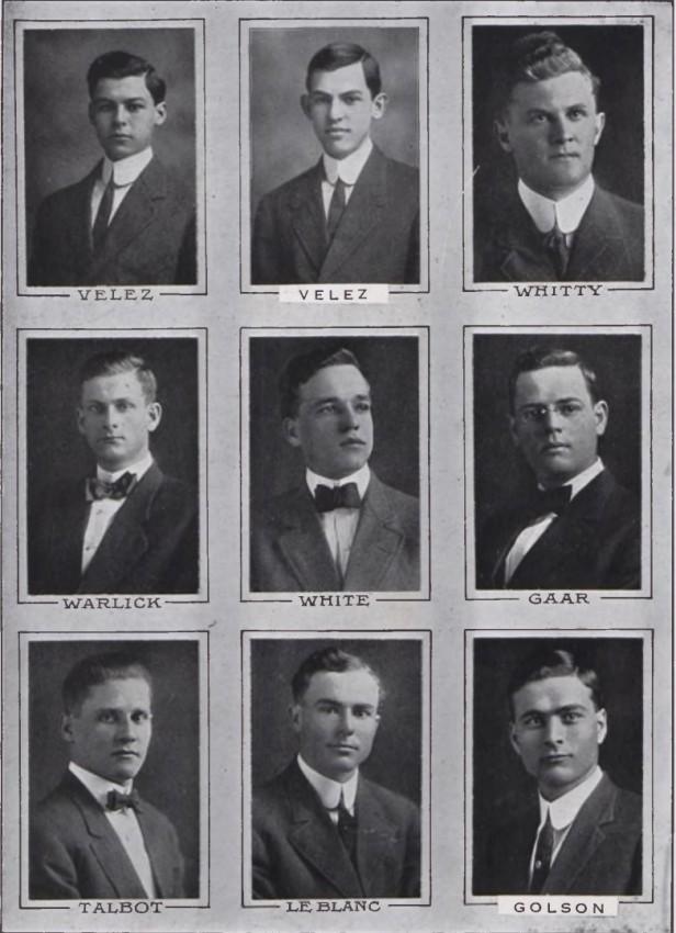 1912 LSU Gumbo Junior Class