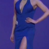 Figure 18: Christina Black Shown in More Revealing Dress