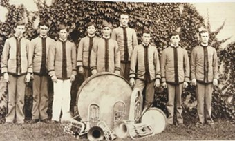 oldest photo of band