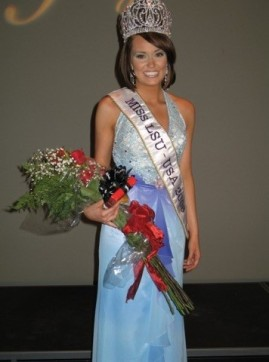 Figure 14: Rachel Smith Pictured After Winning the Miss LSU Pageant