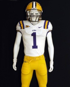 LSU added to jersey