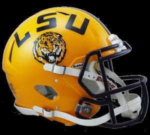 LSU revolution speed helmet