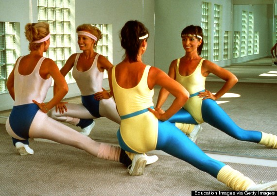 1980s athletic wear
