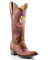 leather gameday boot