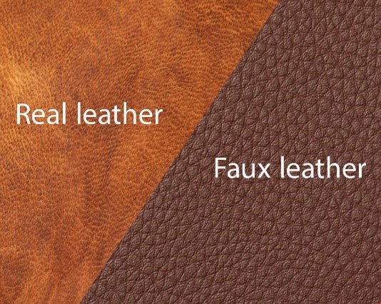 real vs faux